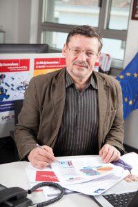 Wolfgang Greif von der GPA-djp kandidiert bei der EU-Wahl. (Bild: Nurith Wagner-Strauss)