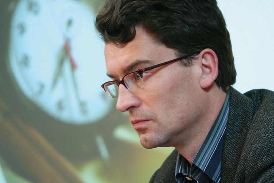 """Der Soziologe Jörg Flecker wird auf der GPA-djp-Betriebsrätekonferenz am 15. Juni zum Thema """"Die Bedeutung der Arbeitszeitpolitik in der Beschäftigungskrise"""" referieren. © Robert Wittek"""