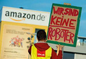 Die Beschäftigten von amazon werden im Weihnachtsgeschäft wieder streiken. Foto: dpa / picturedesk.com