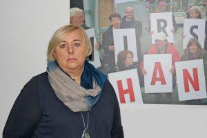 """Betriebsratsvorsitzende Snjezana Brajinovic: """"Wir waren alle komplett geschockt. Das ist eine Sauerei, jetzt vor Weihnachten!"""""""