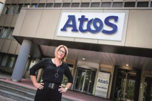 Sandra Steiner ist Betriebsratsvorsitzende bei ATOS IT Solutions and Services. Sie wünscht sich noch differenziertere Einkommensberichte und Sanktionsmöglichkeiten. Foto: ÖGB-Verlag, Michael Mazohl