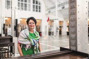 Ingrid Streibel-Zarfl ist Betriebsratsvorsitzende bei der BAWAG/PSK. Sie setzt sich dafür ein, dass Frauen schneller vorankommen und besser eingestuft werden. Foto: ÖGB-Verlag, Michael Mazohl