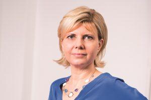 Birgit Sauerzopf, Oesterreichische Nationalbank, möchte die Arbeitszeit verkürzen. Foto: Nurith Wagner-Strauss