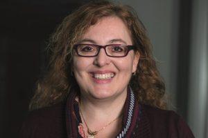 Verena Spitz ist seit 2004 Betriebsrätin bei der BAWAG PSK und seit kurzem auch stellvertretende Vorsitzende des Zentralbetriebsrats. Außerdem ist sie Vorsitzende des Beirats für Arbeit und Technik der GPA-djp. Foto: Nurith Wagner-Strauss