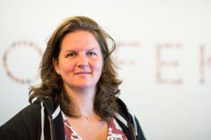 Nadja Igler ist seit 2010 Vorsitzende des Betriebsrates der ORF-Online- und Teletextredaktion. Sie vertritt 105 MitarbeiterInnen. Ihr bisher größter Erfolg als Betriebsrätin ist der 2014 in Kraft getretene Kollektivvertrag für die ORF-Online-MitarbeiterInnen. Foto: Nurith Wagner Strauss