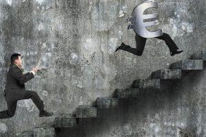 Lohndumping. Statt niedrige anzupassen wird ein massiver Druck nach unten erzeugt. Illustration: Tsung-lin Wu | Dreamstime.com