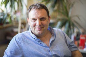 Christian Puszar ist Betriebsratsvorsitzender beim bfi. Foto: Nurith Wagner-Strauss