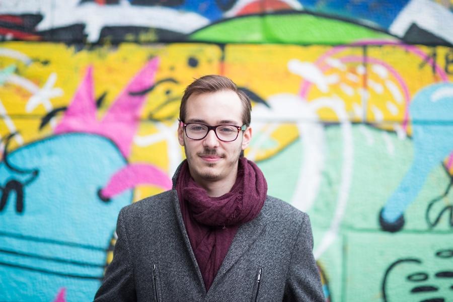 Martin Geischläger (22) ist Mitarbeiter im Parlament und studiert nebenbei Politikwissenschaft. Foto: Nurith Wagner-Strauss